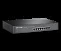 TP-Link Switch  -  (8 port, 1000Mbps; fém ház, rackbe szerelhető)