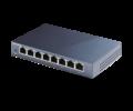 TP-Link Switch  -  (8 port, 1000Mbps; fém ház)