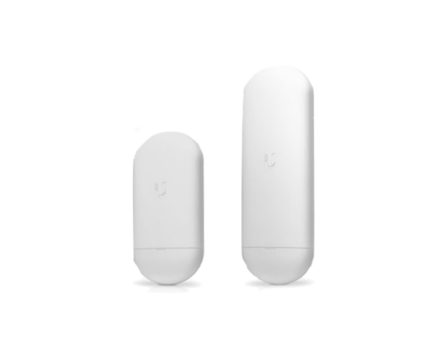 Ubiquiti Access Point WiFi AC450 kültéri - airMAX NanoStation Loco5AC (450Mbps@5GHz; 1Gbps; 13dBi; 24V PoE; 10km)
