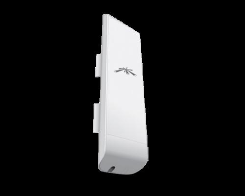 Ubiquiti Access Point WiFi N kültéri - airMAX NanoStation M5 (150Mbps@5GHz; 100Mbps; 16dBi; 24V PoE; 15km)