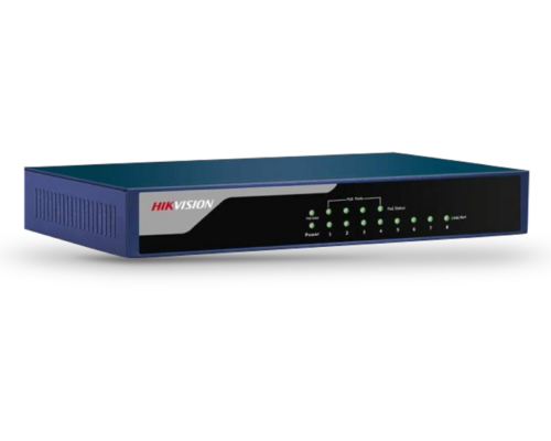 Hikvision PoE switch DS-3E0108P-E - (58W)