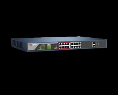Hikvision PoE switch DS-3E1318P-E - (230W)