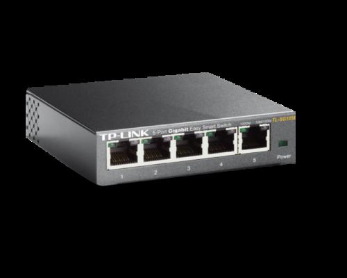 TP-Link Switch Unmanaged Pro -  (5 port, 1000Mbps; fém ház)