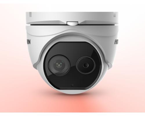 Hikvision DS-2TD1217-2/V1 (Hőkamera + látható fény kamera - hőkamera: 1.8mm, fix kamera: 2.1mm)