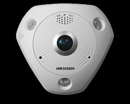 Hikvision DS-2CD6362F-IVS(1.27MM) -  360° Panoráma kamera