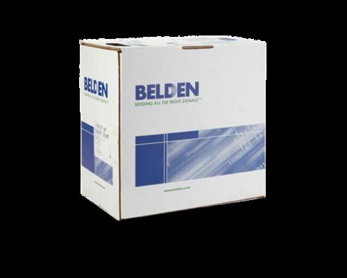 Belden Cat5e UTP fali kábel 305m, 100MHz, PVC, szürke, 4 tömör réz érpár Belden 1583E