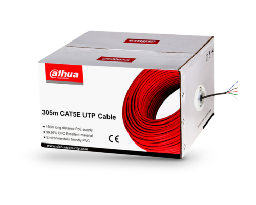Dahua Cat5e UTP fali kábel 305m - oxigénmentes réz - PFM920I-5EUN