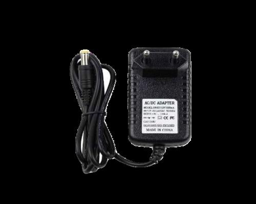 Kamera tápegység 12VDC 2A - fekete