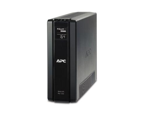APC szünetmentes 1200VA - BR1200G-GR (6x DIN, Line-interaktív, LCD, USB)