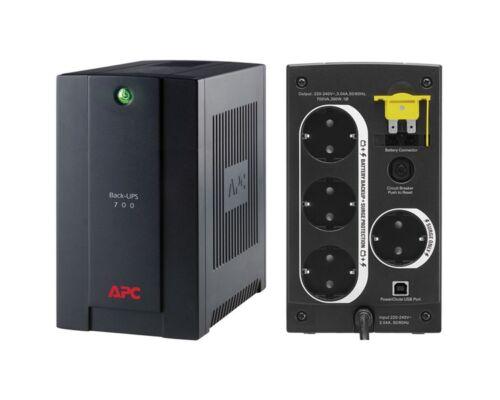APC szünetmentes 700VA - BX700U-GR (4x DIN, Line-interaktiv)