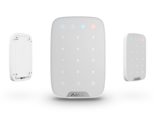 AJAX_Keypad_WH - Vezeték nélküli billentyűzet (fehér)