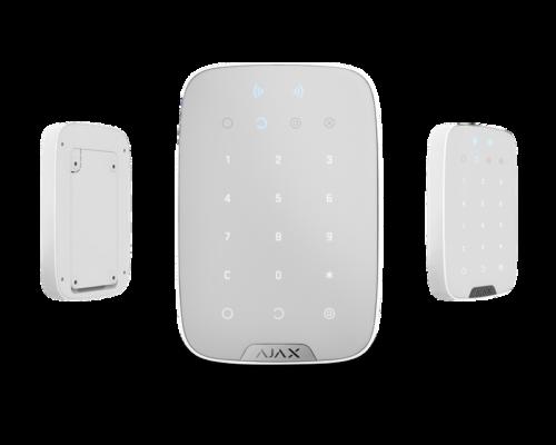AJAX_KeypadPlus_WH - Vezeték nélküli billentyűzet (fehér)