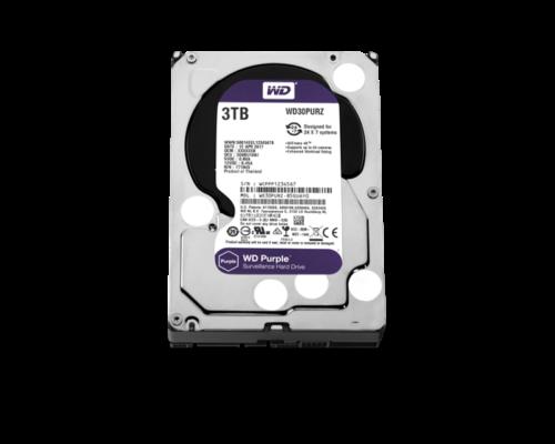 """3TB Western Digital Belső HDD 3.5"""" - WD30PURZ"""