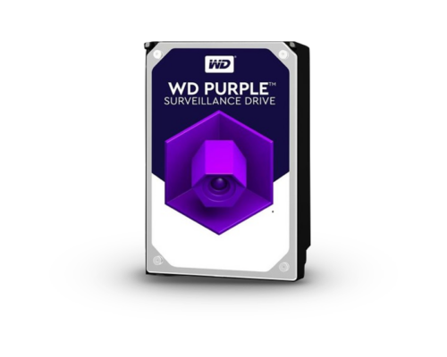 "Western Digital Belső HDD 3.5"" 8TB - WD81PURZ (5400rpm,256 MB puffer, SATA3 - Purple  (biztonságtechnikai rögzítőkhöz)"